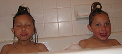 Bathtime funtime