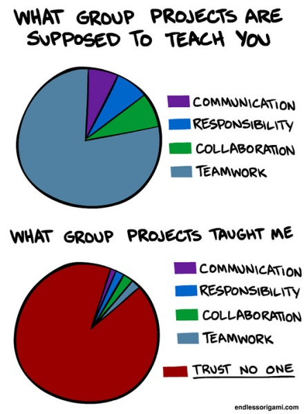 What Group Projects Taught me in School