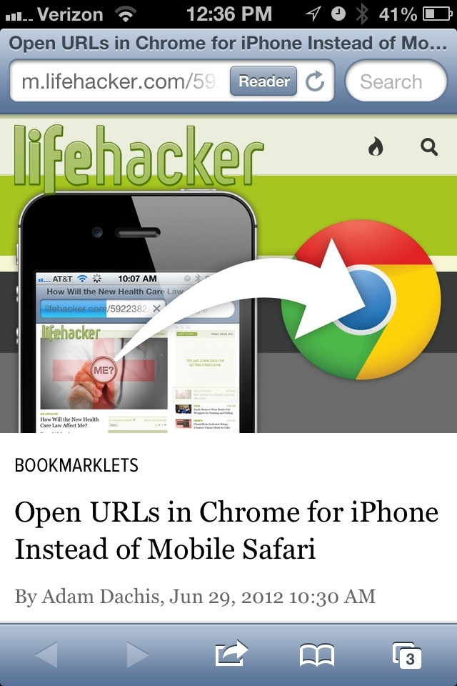 The lifehacker article (referenced above) as seen in Safari
