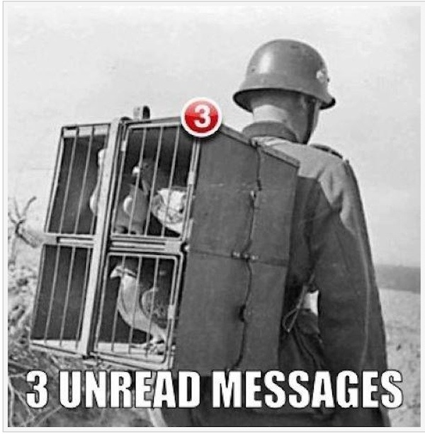 You have 3 unread messages